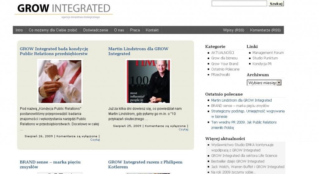 1 Grow Integrated, Jarosław Waśkiewicz, Robert Przepiórka, Studio Punktum