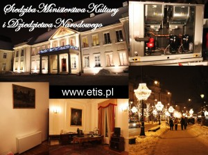 1 Climaveneta, Etis, Ministerstwo Kultury i Dziedzictwa Narodowego