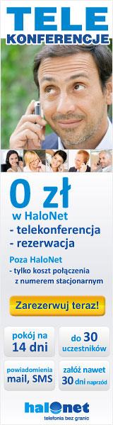 Telekonferencje   nowa usługa operatora telefonii HaloNet