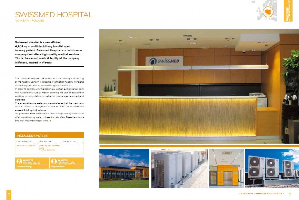 2 Etis, LG, Swissmed, Swissmed Centrum Zdrowia