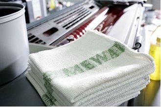 1 czyściwa tekstylne wielokrotnego użytku, czyszczenie maszyn i urządzeń, Mewa Protex, MEWA Textil-Management, MEWATEX, Mewatex Plus, Mewatex Ultra