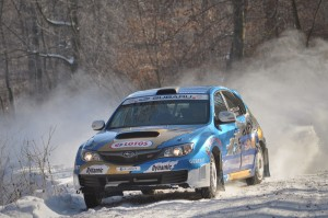 1 Kamil Heller, LOTOS - Subaru Poland Rally Team, RSMP 2012, Wojtek Chuchała