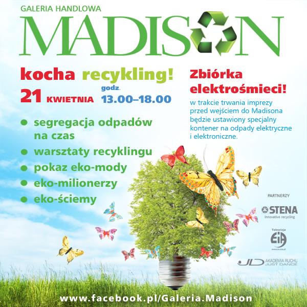 1 Centrum Madison, Dzień Ziemi, ekologia, galeria Madison, GH Madison, Madison, Madison Gdańsk, Monika Trzcińska