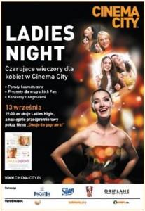 1 Cinema City, Dwoje do poprawki, Iwona Kuźnik, Ladies Night
