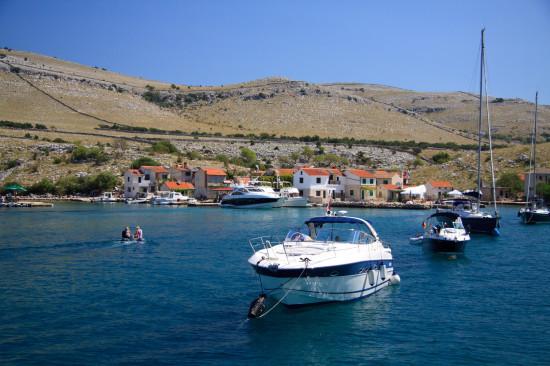 piccolo villaggio sulle isole Kornati - Croazia