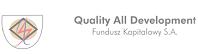 1 Fundusz Pożyczkowy, Łukasz Maj, Private Equity, Quality All Development, Venture Capital