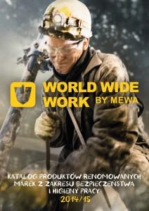 Titelbild  World Wide Work by MEWA Katalog für Arbeitsschutz 2014/2015