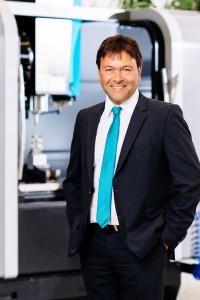 Michael Auer, dyrektor zarządzający HURCO GmbH Deutschland.