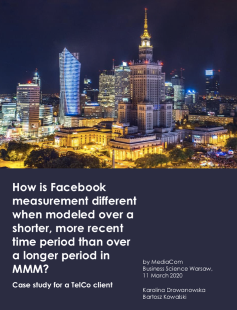 1 Facebook, MediaCom Business Science